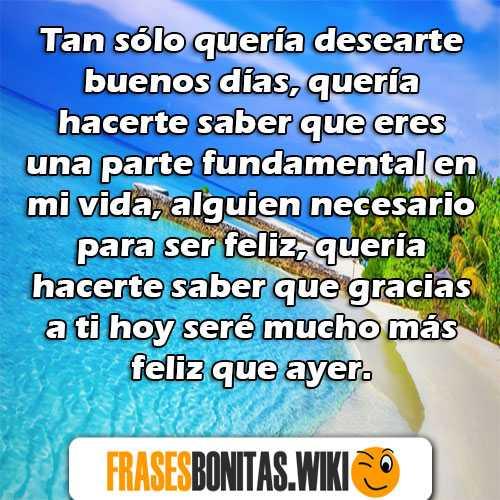 Frases Y Mensajes De Buenos Días Amor Bonitos Originales