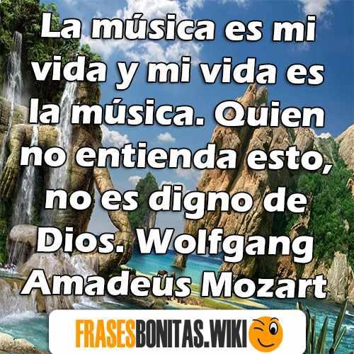 Frases De Música Cortas Famosas Y De Amor De Músicos