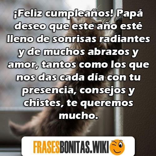 feliz cumpleaños papi