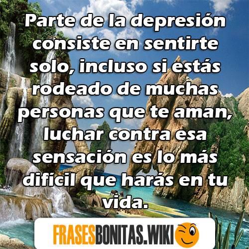 las mejores frases de depresión